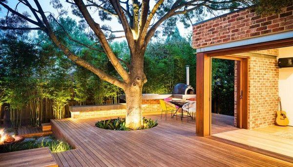 illuminare il giardino di casa